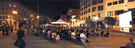 As of 2013, all films shown in Chinatown Park on the Rose Fitzgerald